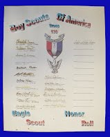 Eagle Scout Honor Roll Plaque #3