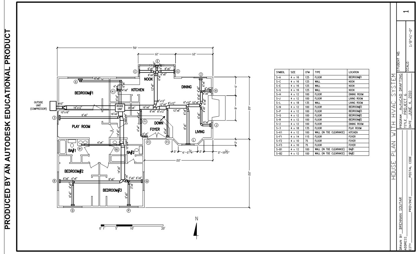 Hvac And Electrical Layouts Brennan Soutar Engineering Drafting Drawing For