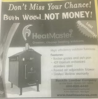 HeatMaster Wood Furnace