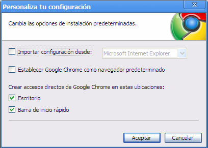 Instalación de Google Chrome (2)