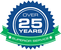 25 Years in Service