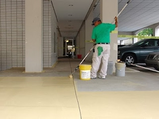 vehicular traffic bearing coating services charleston sc