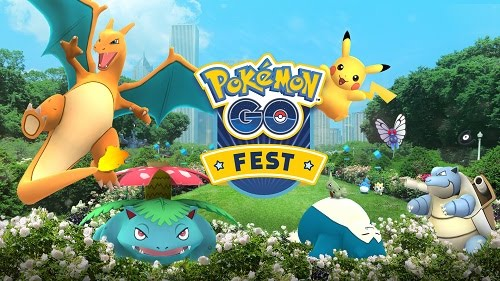 Pokemon Go events first anniversary