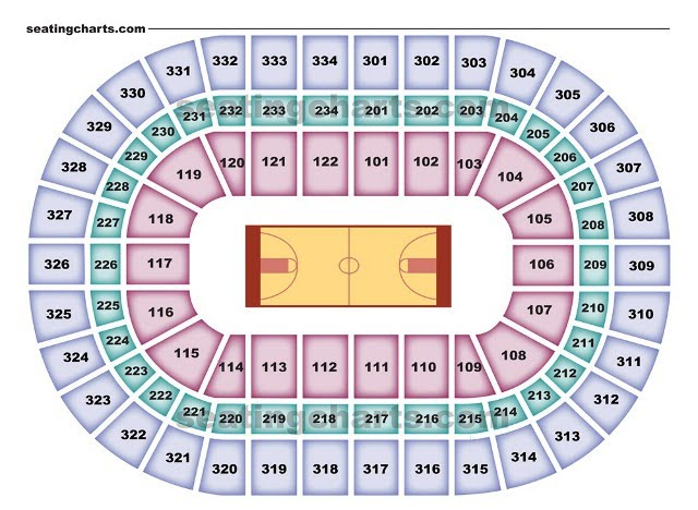 Chicago Bulls Seating Chart For The United Center