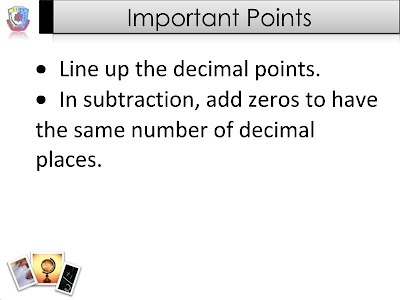 Solving Equations By Adding And Subtracting Decimals 7th Grade Pre