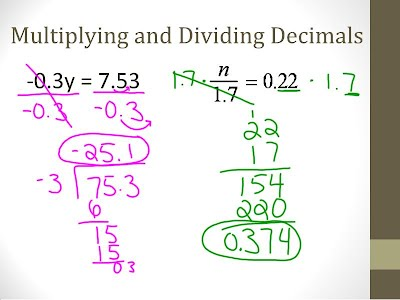 how to solve equations with decimals and variables