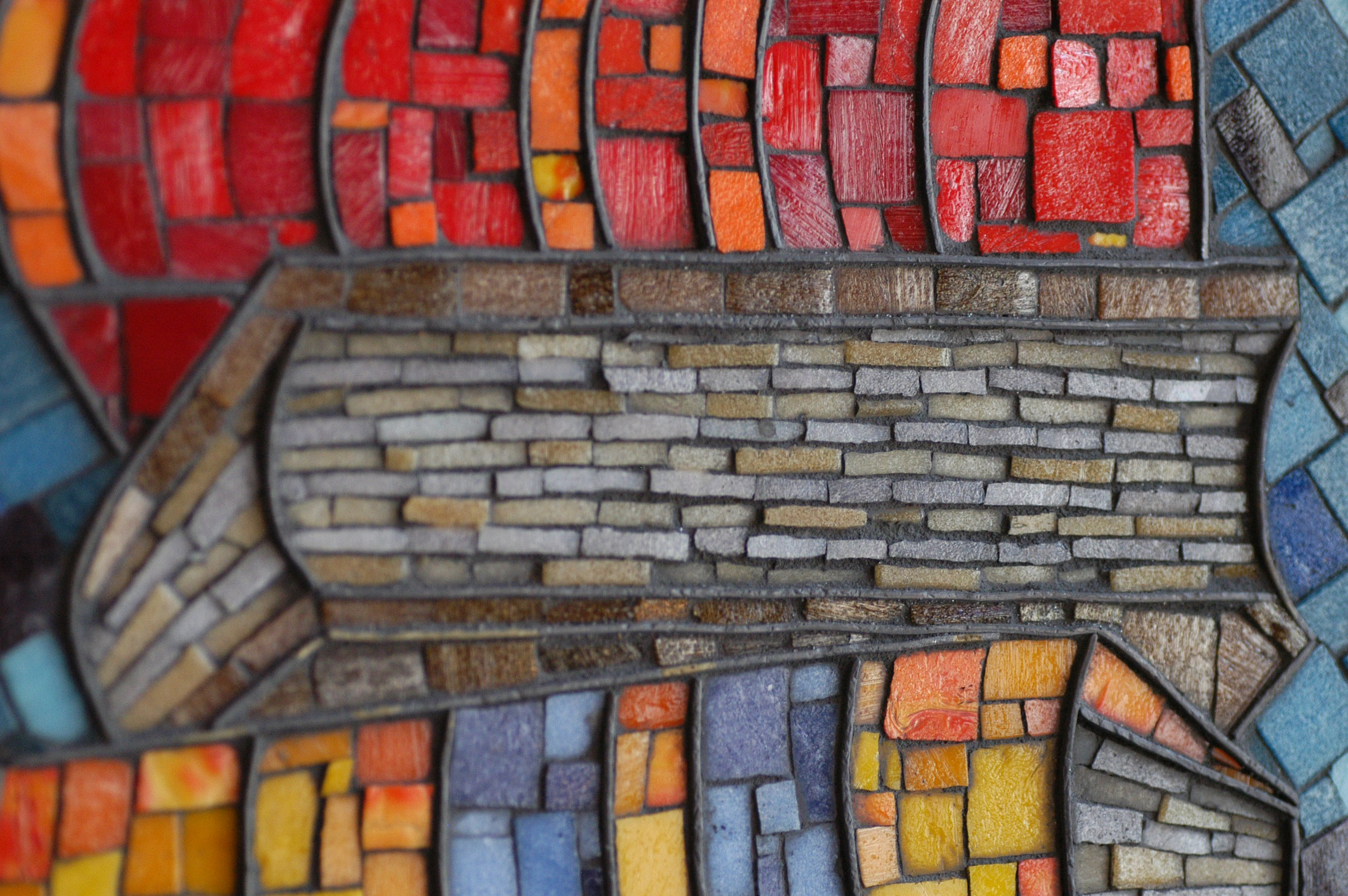 mosaic of book