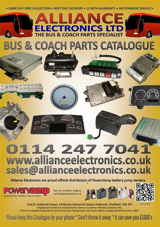 Download our latest Bus and Coach Catalogue