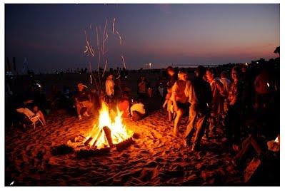 Photo of a Bonfire