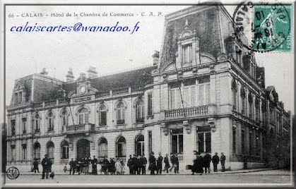 Boulevard international calais en 1900 for Chambre de commerce calais