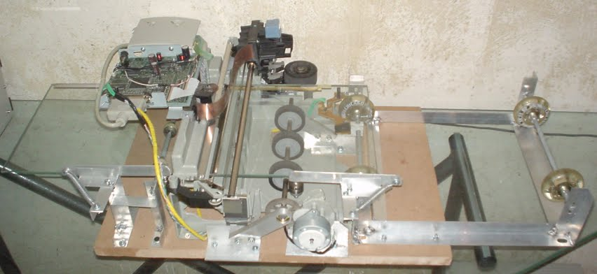 PCB's using a modified bubblejet printer - - Inventions and Innovations