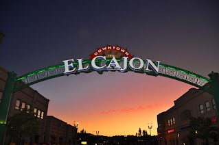 El Cajon Arch - Courtesty City of El Cajon