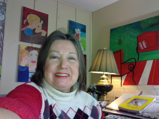 selfie Gloria Poole yr 2013 in Missouri
