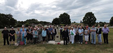 Leger Group 178th July 2015 with 93 year old 12 Parachute Battalion veteran Sgt Frank Swann