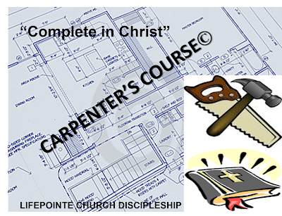 Carpenter's Course Spiritual growth Christian Leadership Christ-Like Character