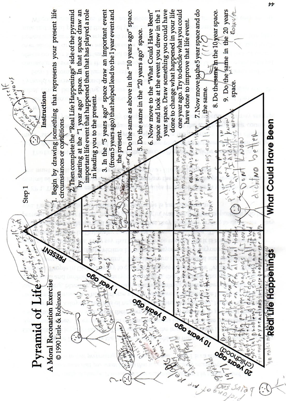 worksheet Aa Step 2 Worksheet drugcourt caryhayes2003 step 1 pyramidoflife jpg