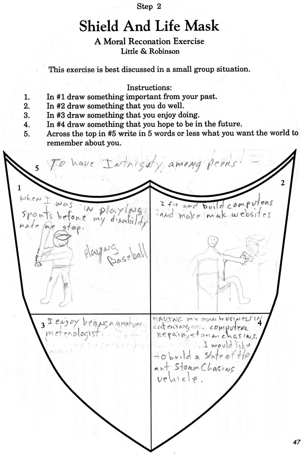 Printables Aa Step 2 Worksheet drugcourt caryhayes2003 step 2 shieldandlifemask jpg