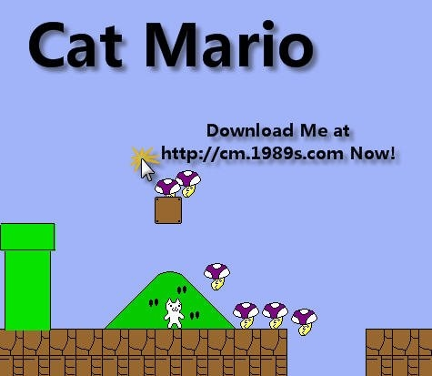 google.cat. to save Cat-Mario!