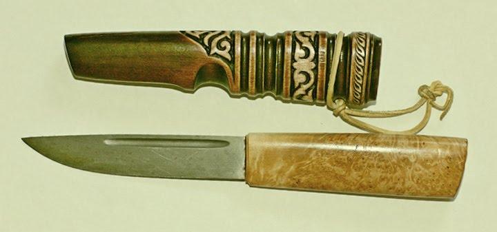 Изготовление ножен из дерева своими руками