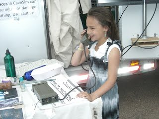 Second girl and field phone