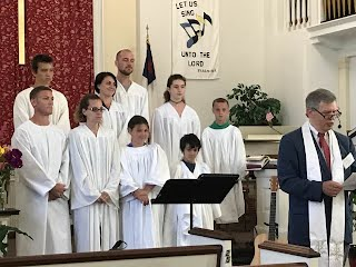 Nine to be baptized