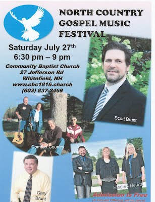 North Country Gospel Music Festival - CBC1816