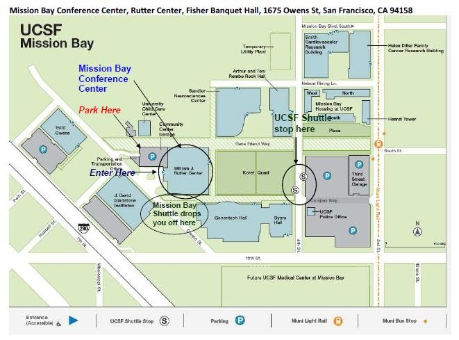 UCSF Mission Bay Map - CCSF Lab Assistant Certificate Program