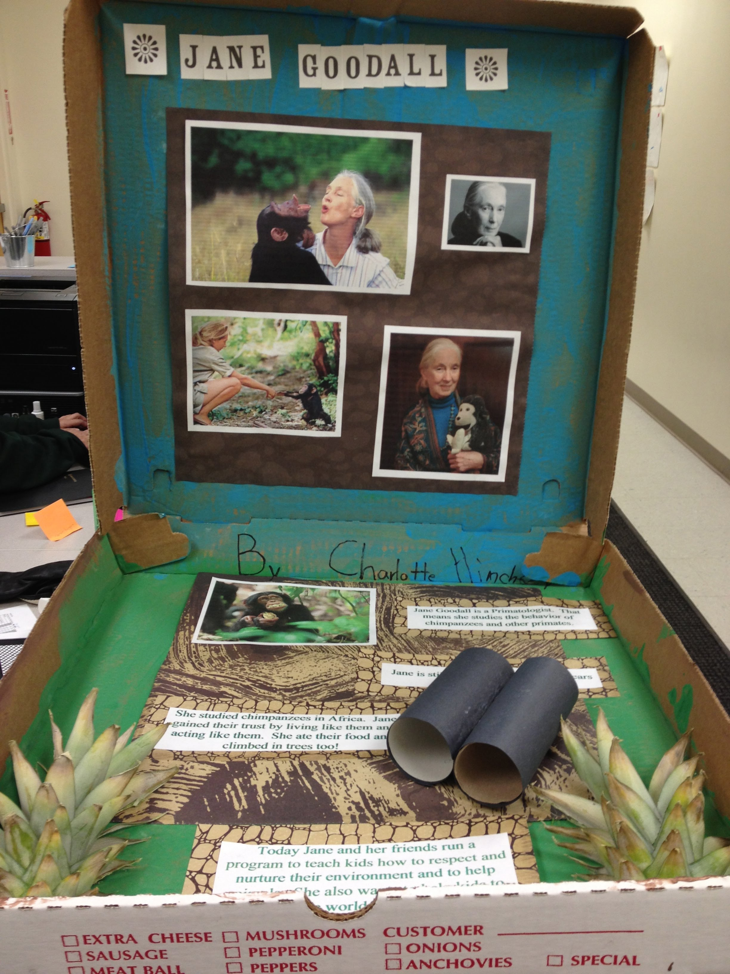 Biography In A Box Examples American Leaders