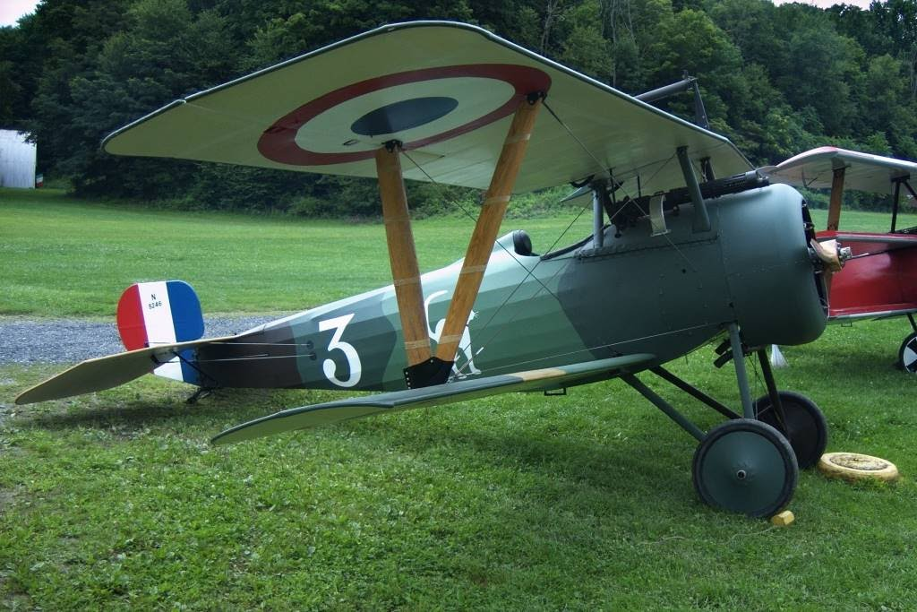 Nieuport 24 at Rhinebeck Aerodrome, Copyright 2008 Christopher Smith