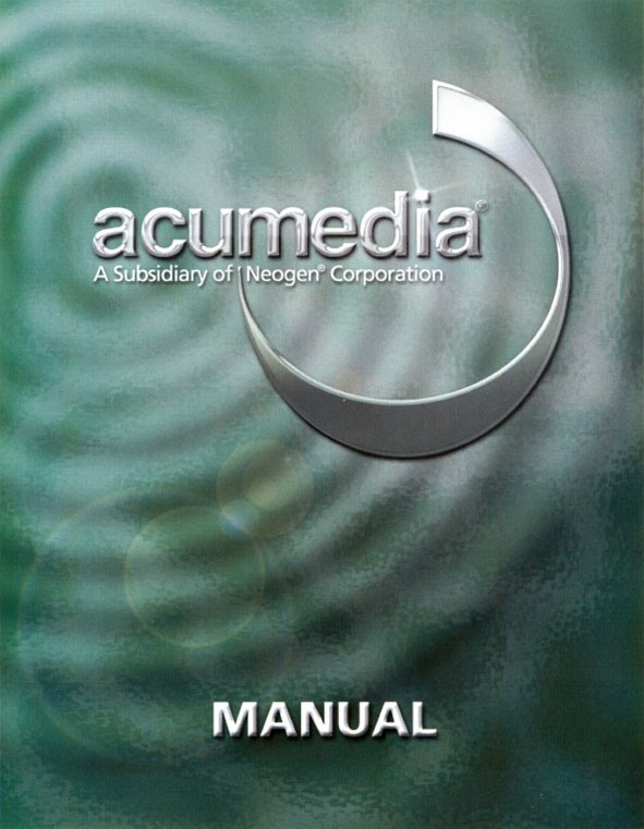 Acumedia Product Names A