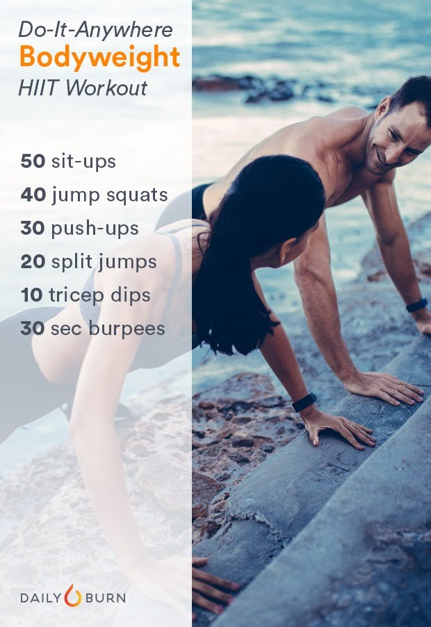 At Home Chipper Workouts (HIIT Plyometric) - CentenarianWannabe