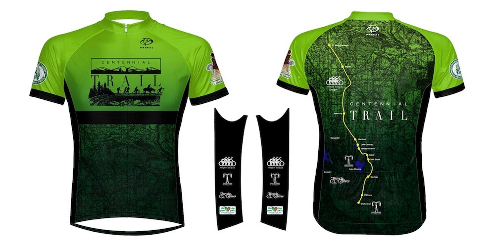 Centennial Trail Bicycle Jersey