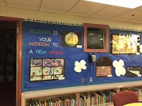 image of library bulletin board