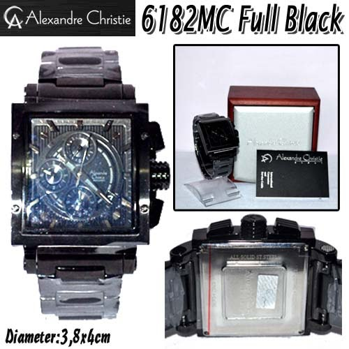Alexandre Christie 6182MC Full Black