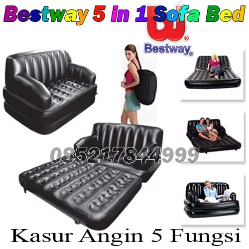 Bestway 5 in 1 Sofa Bed (Kasur Angin 5 Fungsi)