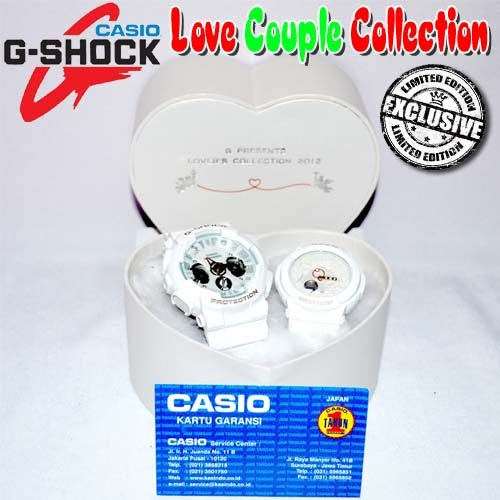 Casio G-Shock Love Couple Collection