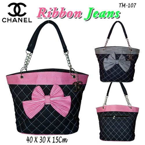 Tas Chanel Ribbon Jeans