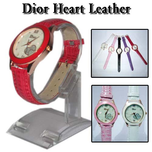 Jam Dior Heart Leather