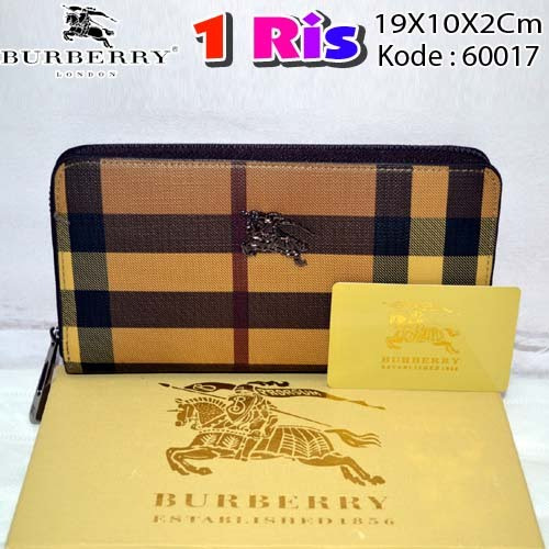 Dompet Burberry 1 Ris 60017 Coffee