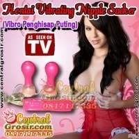 Hentai Vibrating Nipple Sucker (Vibro Penghisap Puting)