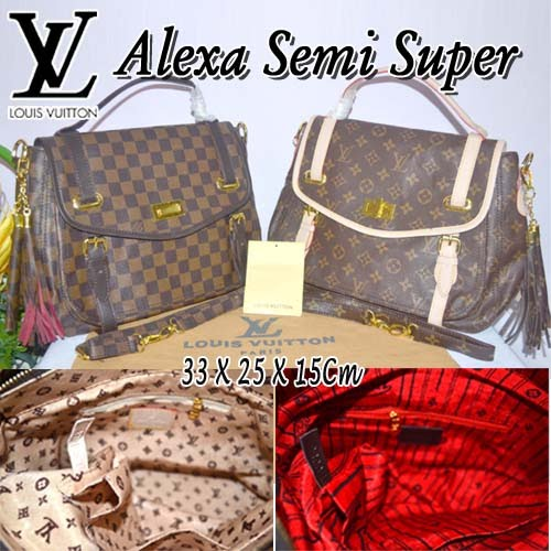 Tas Louis Vuitton Alexa Semi Super