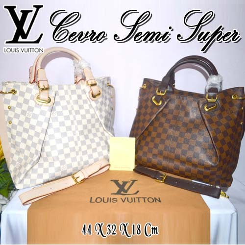 Tas Louis Vuitton Cevro List Semi Super