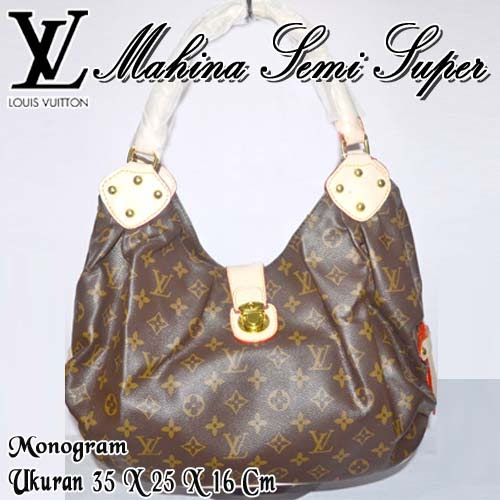 Tas Louis Vuitton Mahina Semi Super