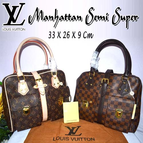 Tas Louis Vuitton Manhattan Semi Super