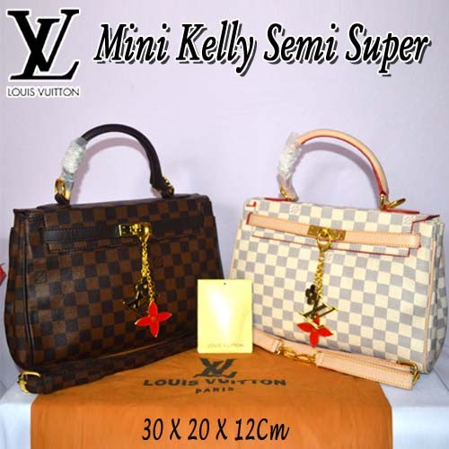 Tas Louis Vuitton Mini Kelly Semi Super