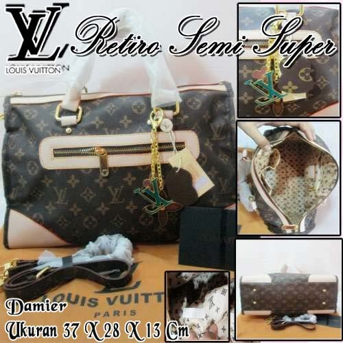 Tas Louis Vuitton Retiro Semi Super