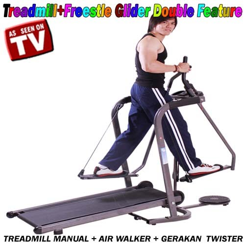 TREADMILL+ FREESTYLE GLIDER DOUBLE FEATURE