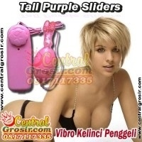 Tall Purple Sliders (Vibro Kelinci Penggeli)