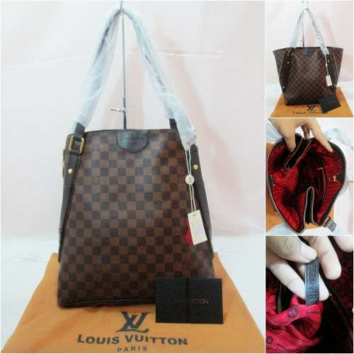 Tas Louis Vuitton Cabas Damier Semi Super