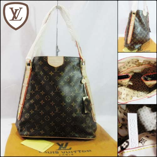 Tas Louis Vuitton Cabas Monogram Semi Super